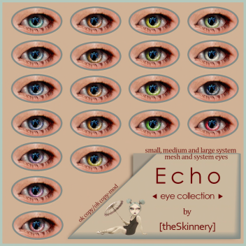 [theSkinnery] Echo eye collection ad